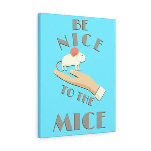 Laboratory Mice Canvas Wrap Print