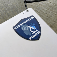 Neuroethics Police Podcast Laptop Sticker