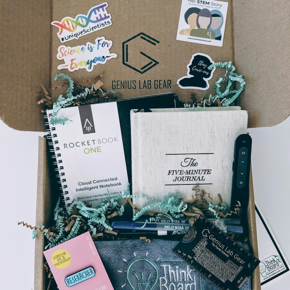STEM gift box for scientists and engineers