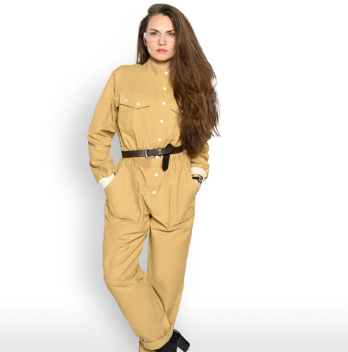Kevlar Beltran fire chemical resistant lab coat coverall for women