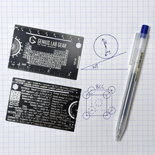 The Pocket Scientist - Wallet Science and Engineering Ruler