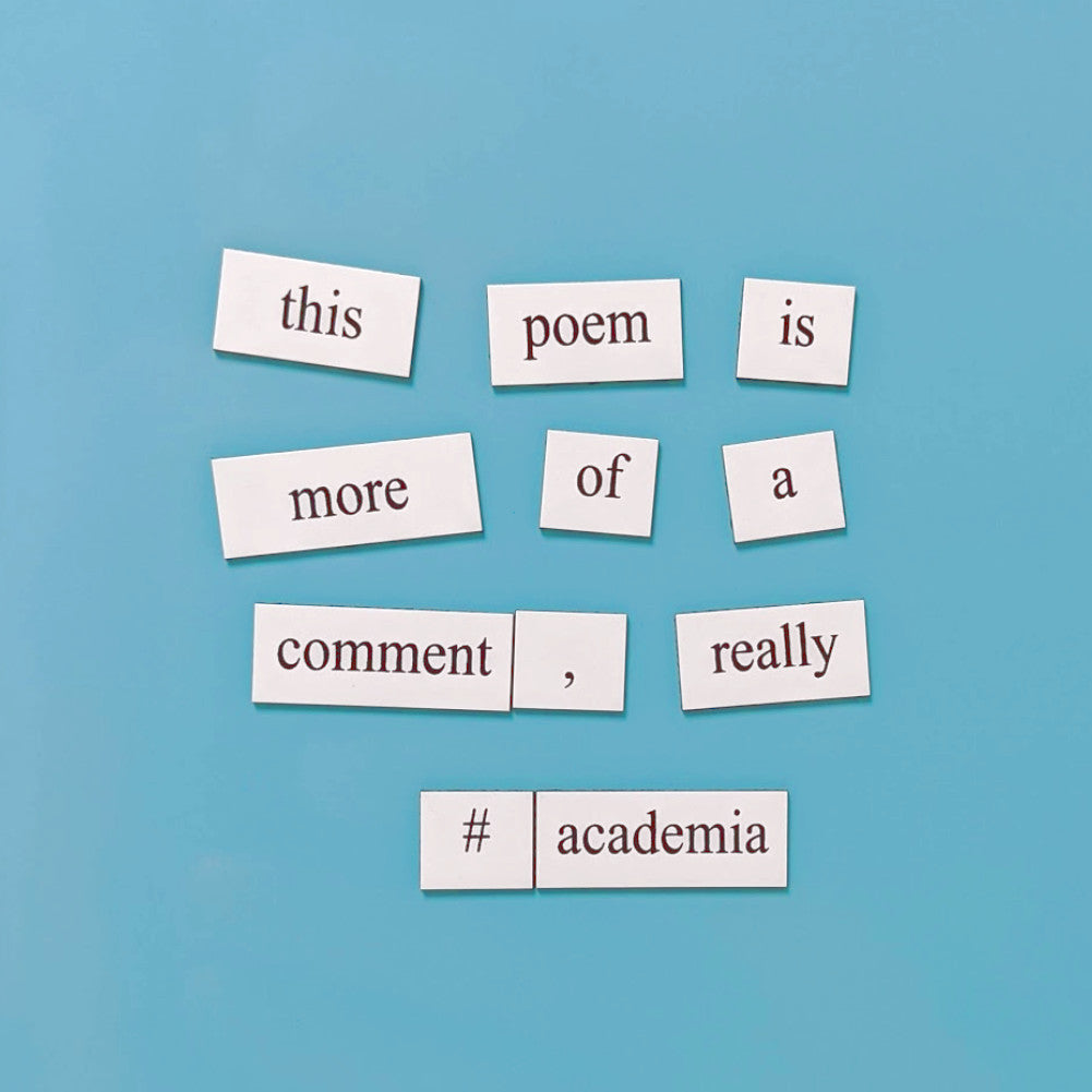 academia phd word magnets