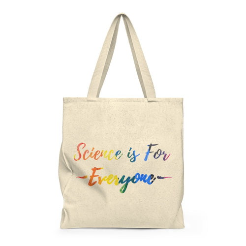 Science is for Everyone Roomy Tote Bag - Vintage