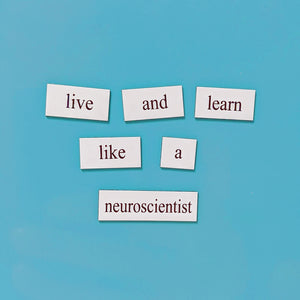 neuroscience word magnet set