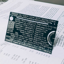 Pocket Scientist wallet science engineering unit conversion reference card