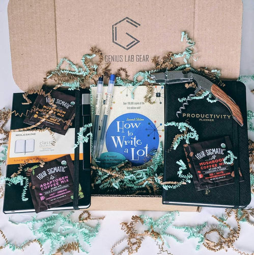 Academic writing gift box for professors and grad students