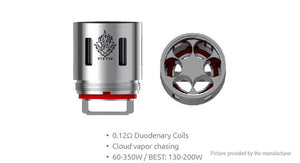 Smok V12-T12 Replacement Coil (3 pack) ForTFV12 or Prince TFV12