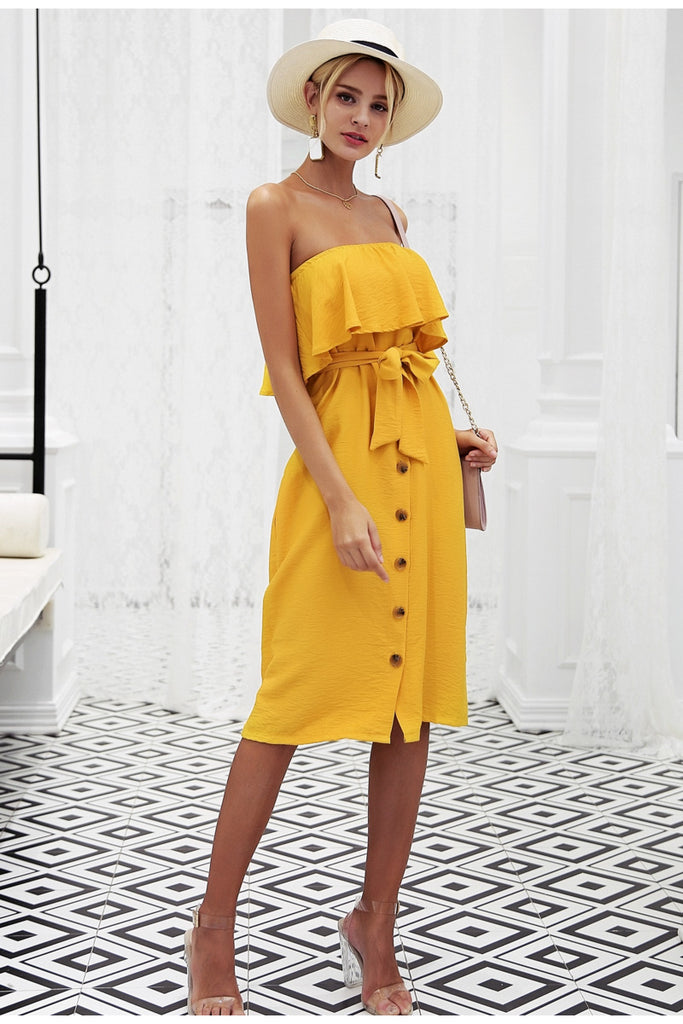 Sexy Off the Shoulder Dress - Peachieee