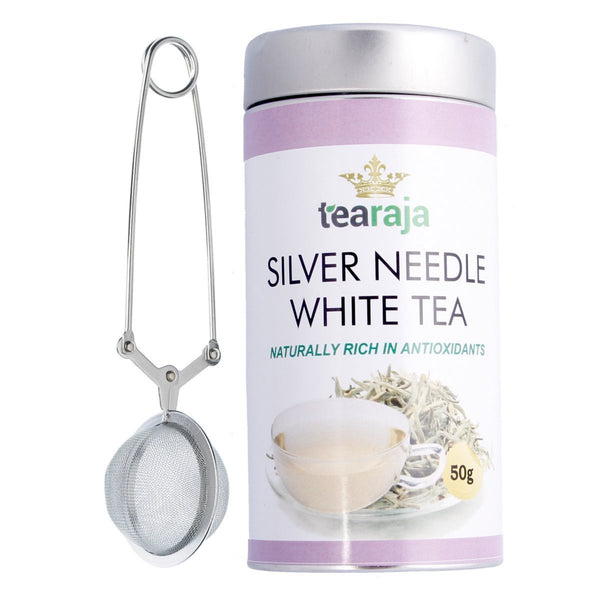 Silver Needle White Tea - Free Tea Infuser