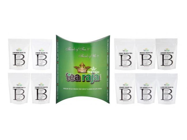 Black Tea Collection Pack(0.35 Oz * 10 Packs)