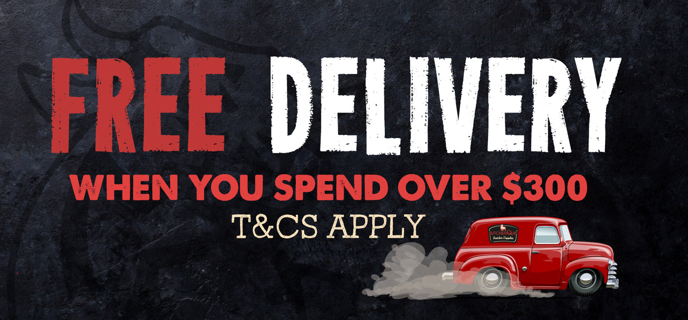 Free Delivery when spend over $300