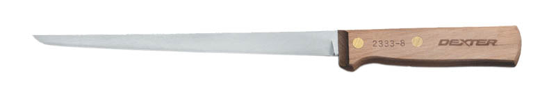 "DEXTER Straight Filleting Knife - 20cm (8"")"