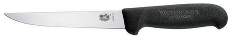 "VICTORINOX Straight Boning Knife - 15cm (6"") Wide Blade(5.6003.15)"