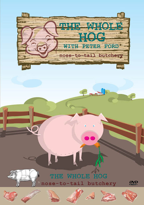 DVD - The Whole Hog with Peter Ford - 70 Minutes