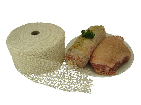 Roast Netting  - White 18/150 - 50m Roll