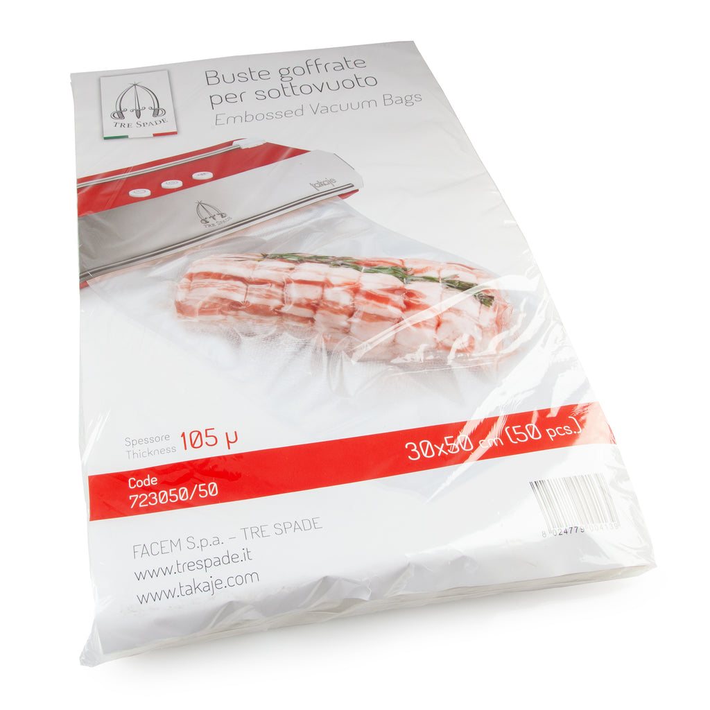 Channel Vacuum Bag - 300 x 500mm(50 pk)