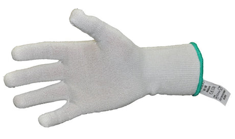 White Cut Resistant Glove Large