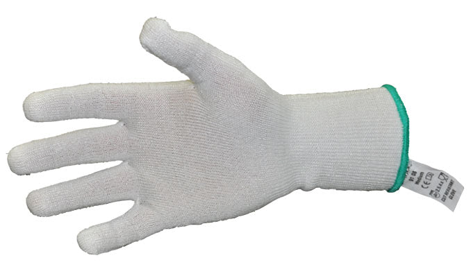 White Cut Resistant Glove Medium