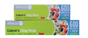 Caterer's Clingwrap - 33cm x 600m