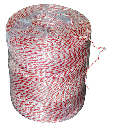 Butchers Twine Red & White Polyester - 560m