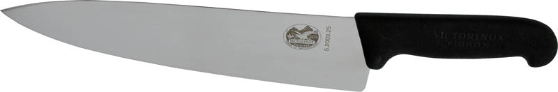 "VICTORINOX Cooks Knife - 25cm (10"") Fibrox Handle(5.2003.25)"