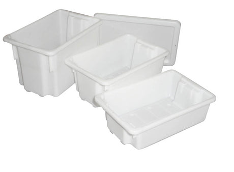 7 Meat Tub Stack & Nest - 64 x 41 x 21cm (32L)