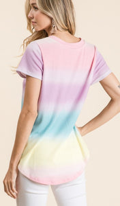'The Unicorn' Ombre Top