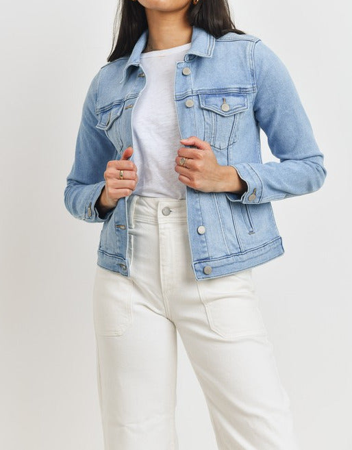 'The Danica' Soft Denim Jacket