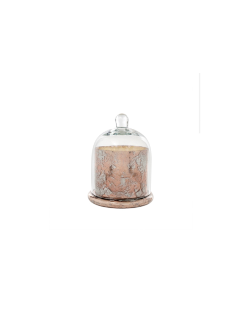 Cloche Candle in Rose Gold
