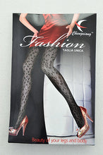 Leopard Print Fishnet Stockings