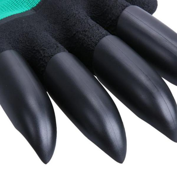 1 Pair Garden Glove With Claws