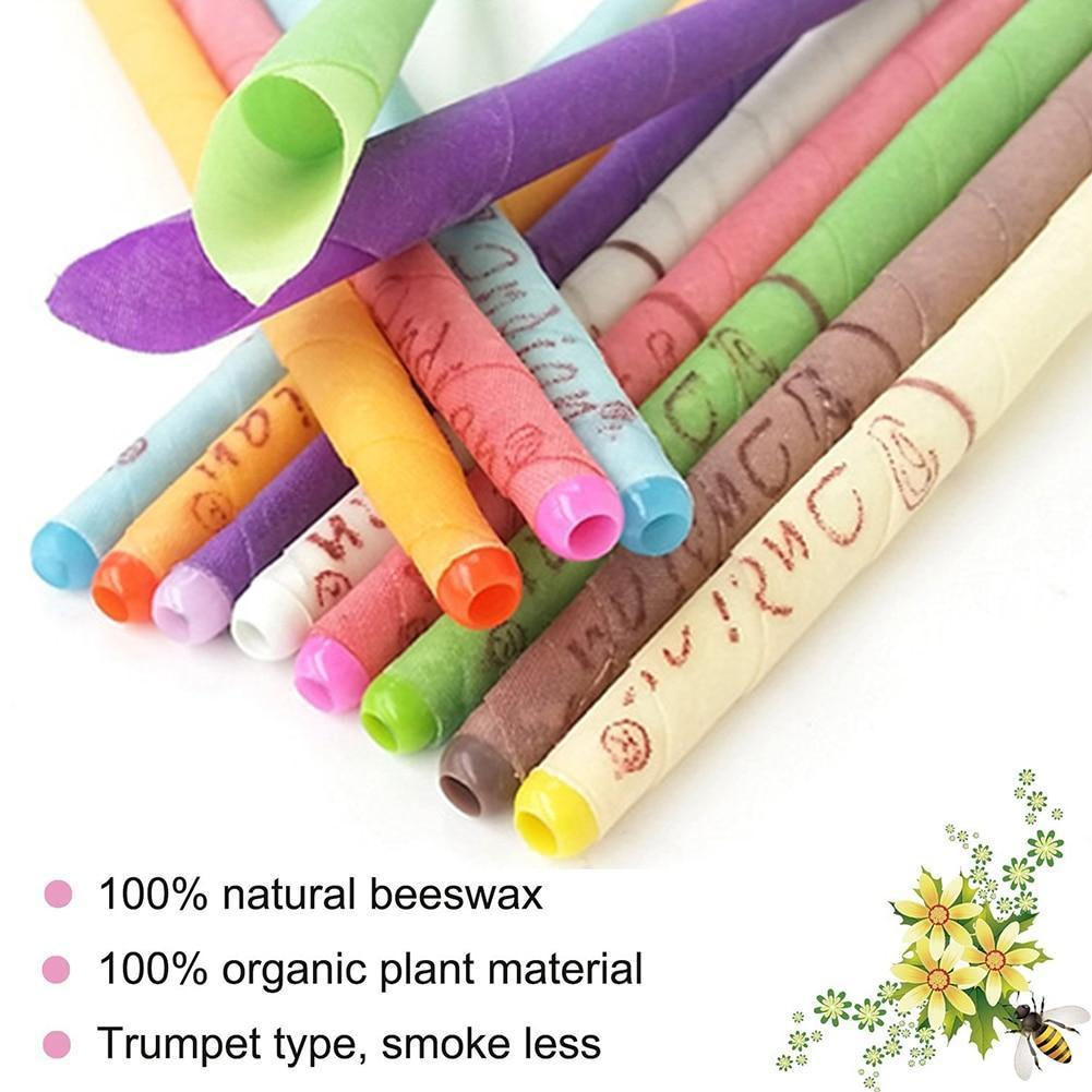 10Pcs/Pack Natural Ear Candling (BUY 1 FREE 1)