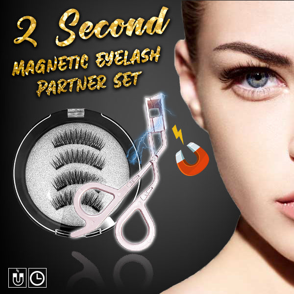 2 Second Magnetic Eyelash Partner Set
