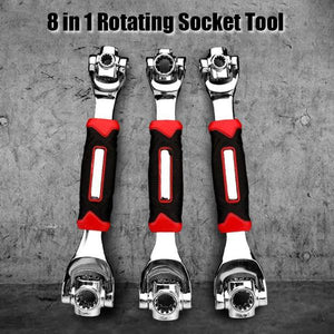 8 In 1 Rotating Socket Tool
