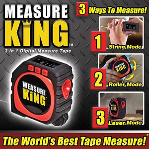 MeasureKing™ 3 in 1 Digital Measure Tape