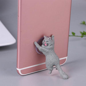 Adorable Cat Phone Stand