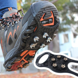 Anti-Slip Walk Traction For Hiking, Snow & Ice