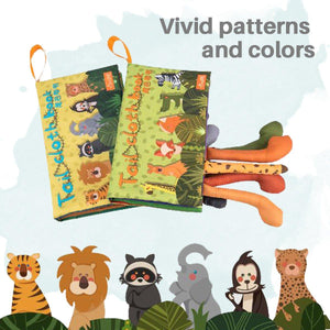 Baby Animal Tail Soft Book