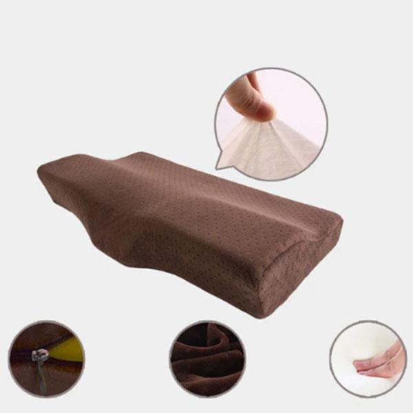 Butterfly Shaped Memory Foam Pillow