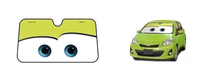 Cartoon Windshield Visor Universal Car Cover