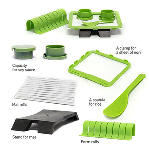 Easy Sushi Maker Roll Kit
