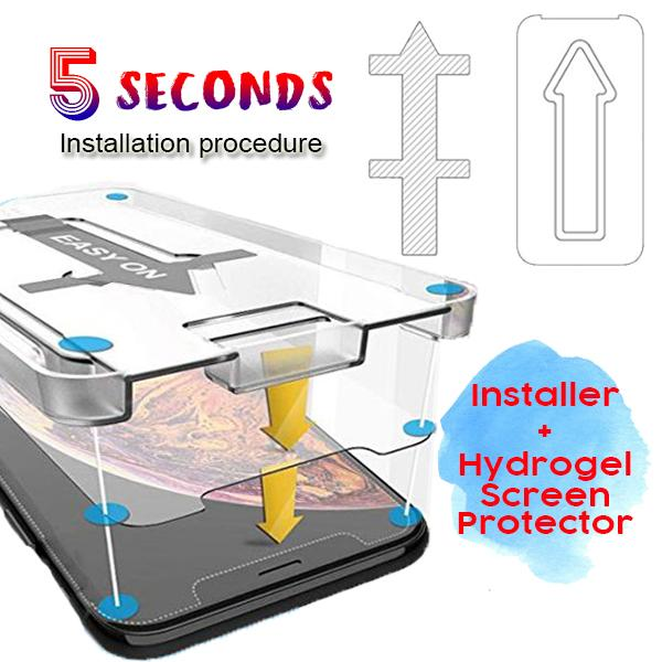 Hydrogel Screen Protector Install Kit