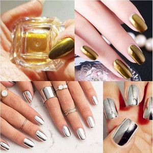 Magic Chrome Nail Powder