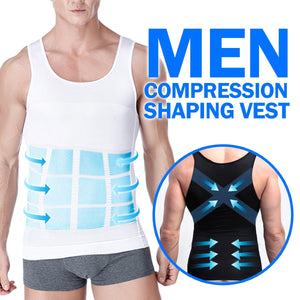 Men Compression Shaping Vest