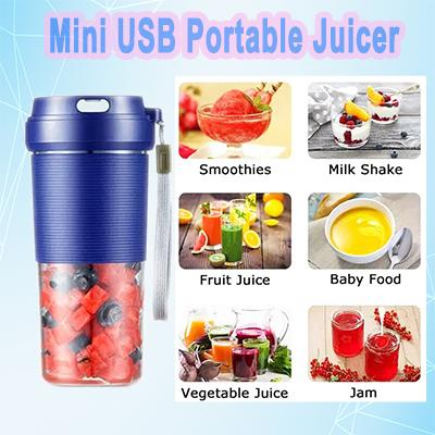 Mini USB Portable Juicer - 400ML