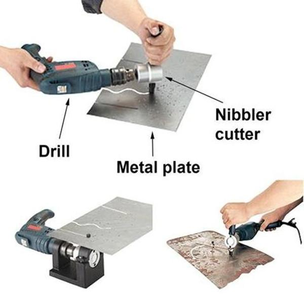 Nibbler Metal Cutter