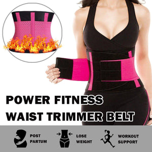 Power Fitness Waist Trimmer Belt