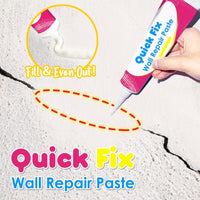 Quick Fix Wall Repair Paste