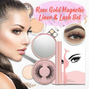 Rose Gold Magnetic Liner & Lash Set