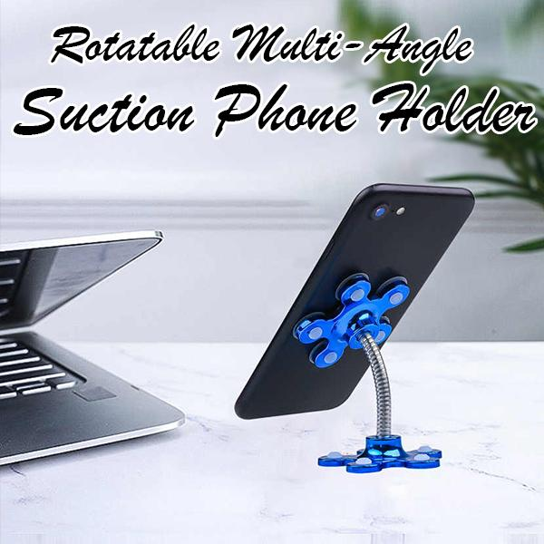 Rotatable Multi-Angle Suction Phone Holder